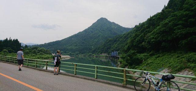 長野から喜多方へ只見川沿いライド
