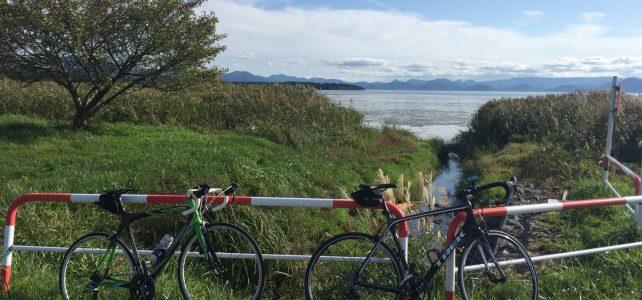 猪苗代湖一周サイクリング