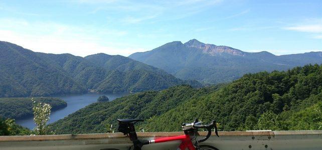 会津の峠、川、湖
