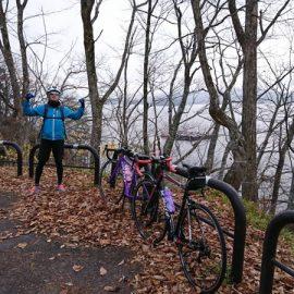 落葉の桧原湖一周